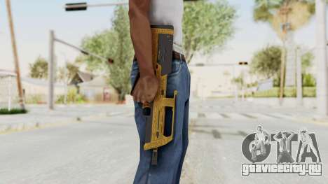 Assault SMG Lux для GTA San Andreas третий скриншот