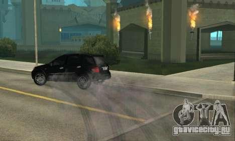 Mercedes-Benz ML 63 AMG для GTA San Andreas вид изнутри
