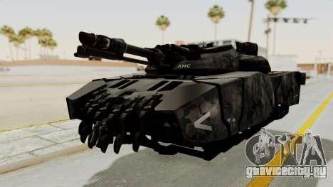 T-470 Hover Tank для GTA San Andreas вид сзади слева