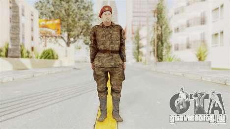 MGSV The Phantom Pain Soviet Union Commander для GTA San Andreas второй скриншот
