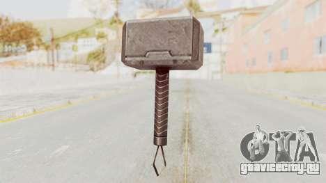 Marvel Future Fight - Mjolnir для GTA San Andreas третий скриншот