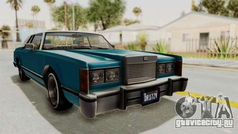GTA 5 Dundreary Virgo Classic Custom v3 IVF для GTA San Andreas вид справа