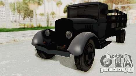 Ford AA from Mafia 2 для GTA San Andreas вид справа