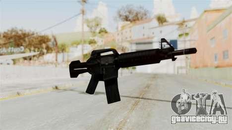 Liberty City Stories M4 для GTA San Andreas второй скриншот