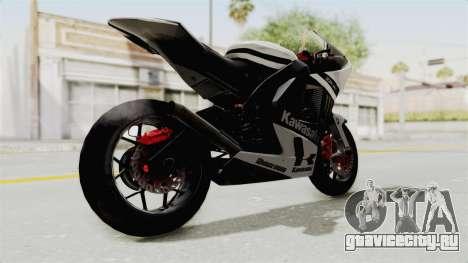 Kawasaki Ninja ZX-RR Streetrace для GTA San Andreas вид справа