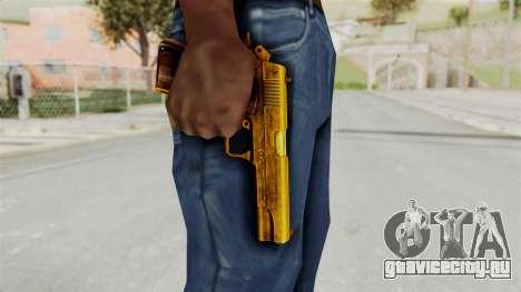 M1911 Gold для GTA San Andreas