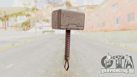 Marvel Future Fight - Mjolnir для GTA San Andreas второй скриншот