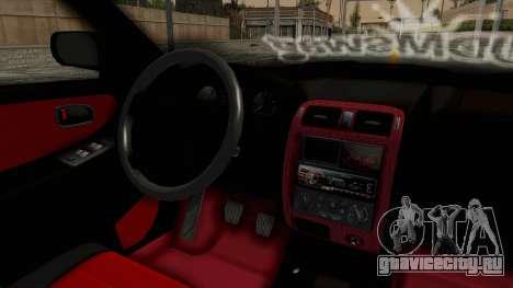 Mazda 626 Air для GTA San Andreas вид изнутри