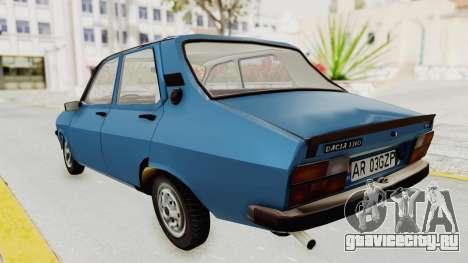 Dacia 1310 MLS 1988 Stock для GTA San Andreas вид сзади слева