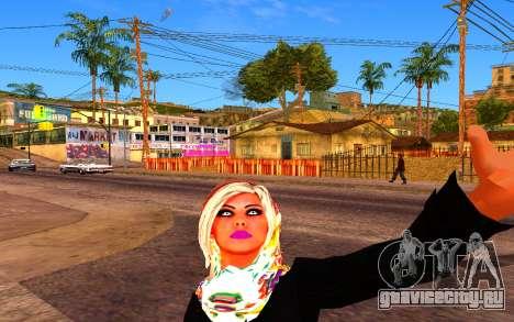 Iranian Girl для GTA San Andreas второй скриншот