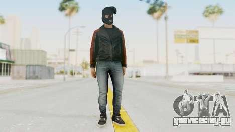 GTA 5 DLC Heist Robber для GTA San Andreas второй скриншот