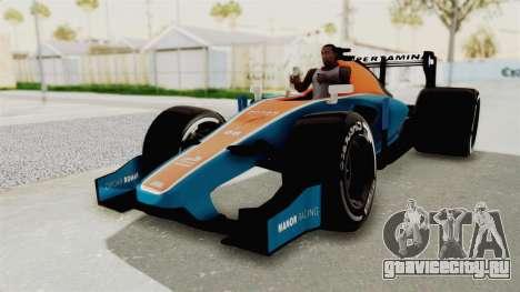 Rio Haryanto 88 F1 Manor Racing для GTA San Andreas