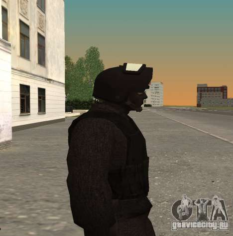 Сотрудник ФСБ Альфа v1 для GTA San Andreas четвёртый скриншот