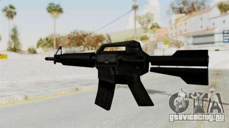 Liberty City Stories M4 для GTA San Andreas третий скриншот