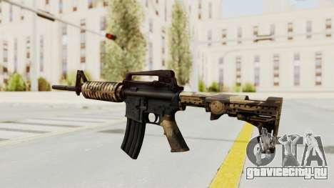HD M4 v3 для GTA San Andreas третий скриншот