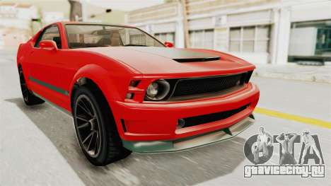 GTA 5 Vapid Dominator v2 SA Lights для GTA San Andreas