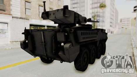 M1128 Mobile Gun System IVF для GTA San Andreas вид справа