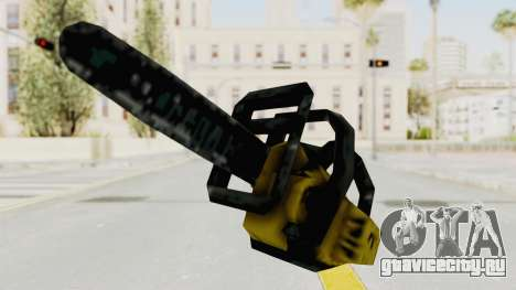 Liberty City Stories Chainsaw для GTA San Andreas второй скриншот