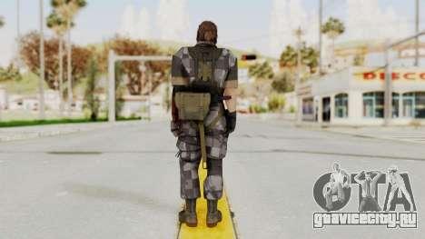 MGSV The Phantom Pain Venom Snake No Eyepatch v7 для GTA San Andreas третий скриншот