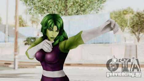 Marvel Future Fight - She-Hulk для GTA San Andreas