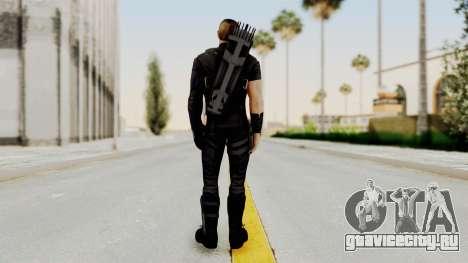 Captain America Civil War - Hawkeye для GTA San Andreas третий скриншот