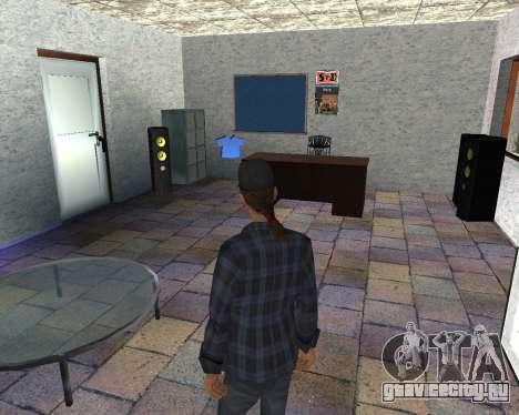 Интерьер СТО San Fierro для GTA San Andreas
