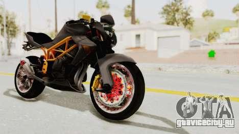 Kawasaki ER 6N Superbike для GTA San Andreas вид справа