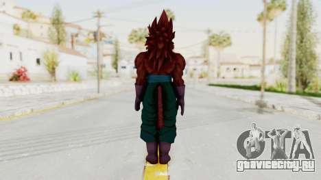 Dragon Ball Xenoverse Vegito SSJ4 для GTA San Andreas третий скриншот