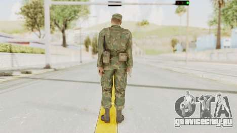 MGSV Ground Zeroes US Soldier Armed v2 для GTA San Andreas третий скриншот
