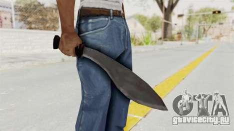 Liberty City Stories - Machete для GTA San Andreas третий скриншот