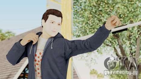 Captain America Civil War - Peter Parker для GTA San Andreas