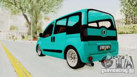 Fiat Fiorino Hellaflush v1 для GTA San Andreas вид слева