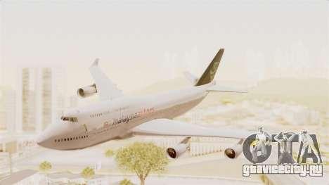 Boeing 747-400 Malaysia Airlines Tabung Haji для GTA San Andreas