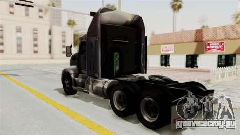 Kenworth T660 Sleeper для GTA San Andreas вид слева