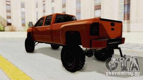 Chevrolet Silverado Long Bed для GTA San Andreas вид слева