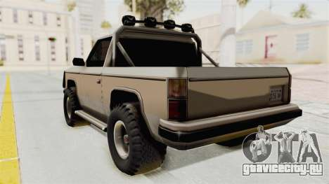 Rancher Style Bronco для GTA San Andreas вид слева