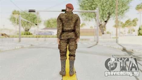 MGSV The Phantom Pain Soviet Union Commander для GTA San Andreas третий скриншот
