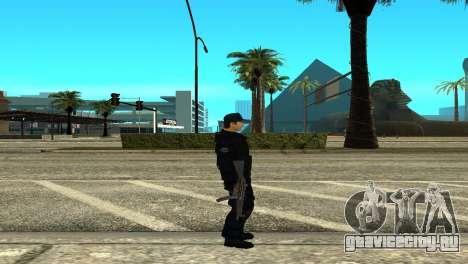 Police SWAT Skin for GTA San Andreas для GTA San Andreas второй скриншот