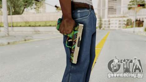 Glock 18C для GTA San Andreas третий скриншот