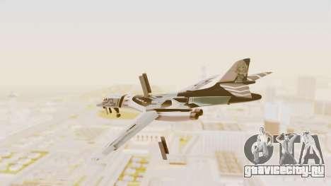 Rockwell B-1B Lancer Tina Sprout Itasha для GTA San Andreas вид слева
