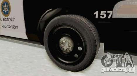 Ford Crown Victoria SFPD для GTA San Andreas вид сзади