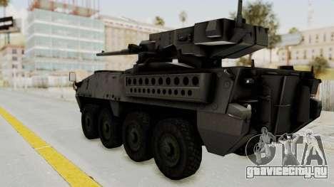 M1128 Mobile Gun System IVF для GTA San Andreas вид слева