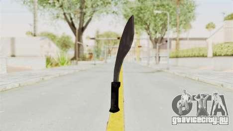 Liberty City Stories - Machete для GTA San Andreas второй скриншот