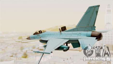 F-16 Fighting Falcon Civilian для GTA San Andreas вид справа