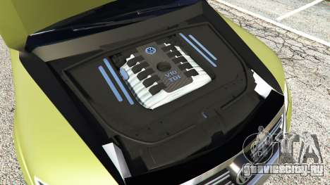 Volkswagen Touareg R50 2008 для GTA 5 вид спереди справа