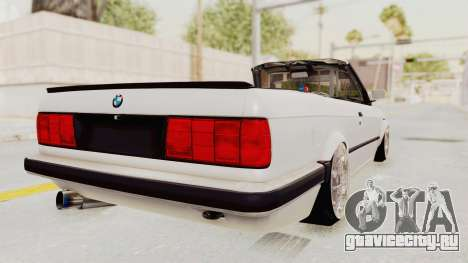 BMW 316i E30 для GTA San Andreas вид сзади слева