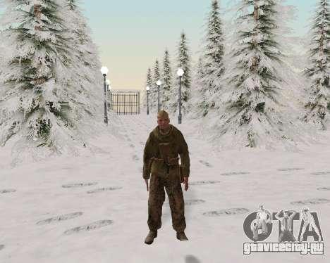 Пак бойцов красной армии для GTA San Andreas шестой скриншот