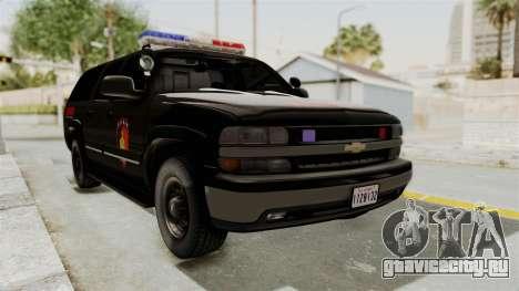 Chevrolet Suburban Indonesian Police RESMOB Unit для GTA San Andreas