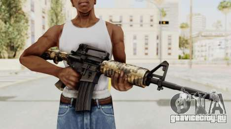 HD M4 v3 для GTA San Andreas