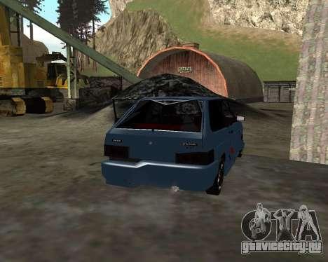 VAZ 2108 для GTA San Andreas двигатель